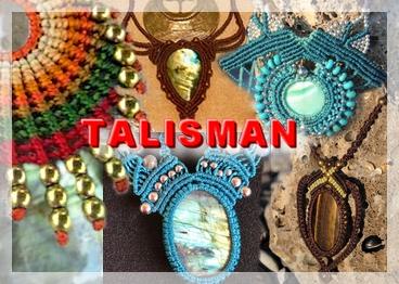 TALISMAN PRODUIT bijoux energetique vibratoire canalisation talisman minéraux macramé noellia chami